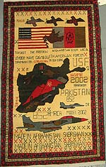 Large Tora Bora War Rug