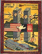 Really Excellent World Trade Center War Rug