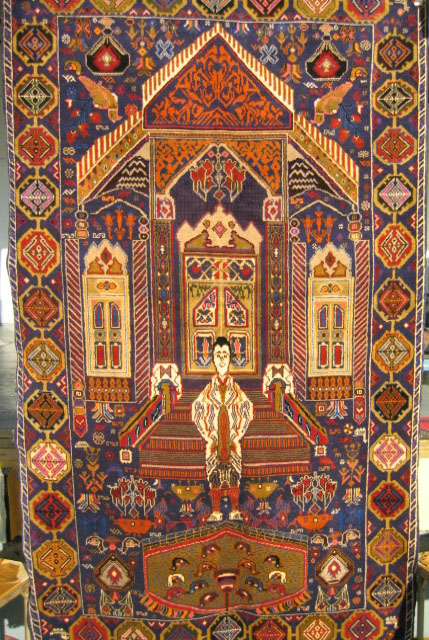 Traditional Patterns: Genisis For War Rugs