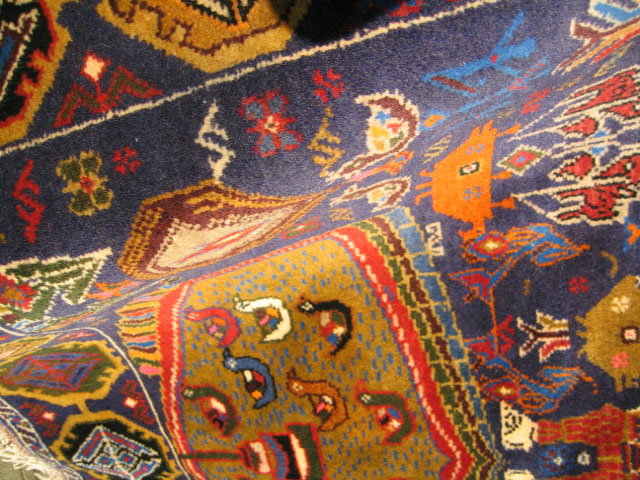 Afghan War Rug or Conflict Carpet
