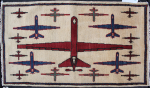 Red Reaper Drone Rug
