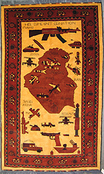 Large Iraq War Rug