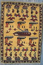 Uzbeki War Rug