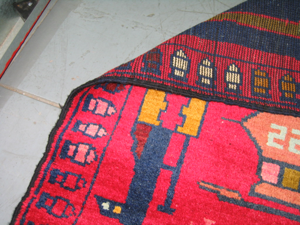 For sale: Afghan War Rug or Conflict Carpet