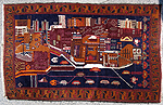 Abstract  Victoria St Landscape War Rug