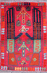 Vermillion War Rug