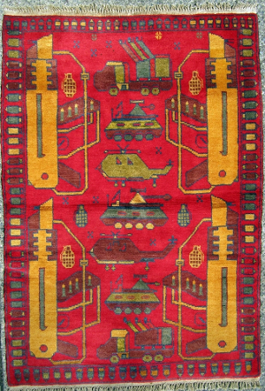 AK-74 and Rocket Launchers