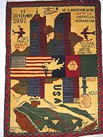 World Trade Center 9/11 War Rug