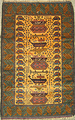 Yellow War Rug