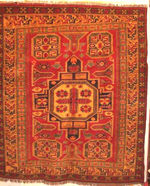 Large Chechen Pakistani War Rug