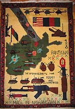 Transitional Soviet Afghan War / War on Terrorism Rug