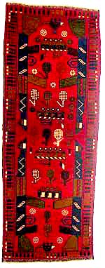 Red Rug Small Runner
