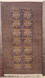 Large 10 Tank blue  Afghan War Rug