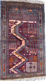 Mountain War Rug