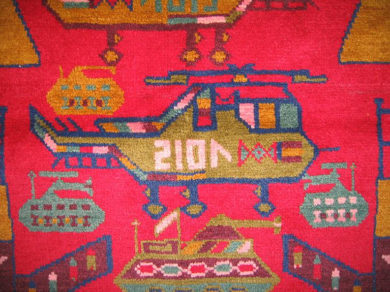 For sale: Afghan War Rug or Conflict Carpet