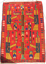 RPG Red War Rug