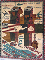 World Trade Center USA War Rugs