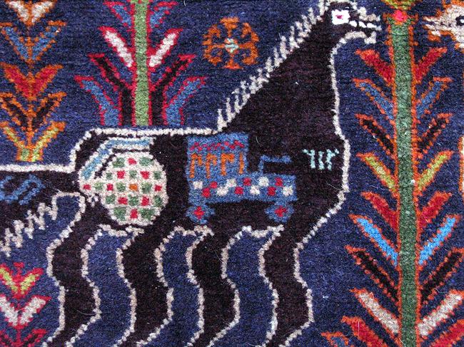 Yellow Turkmen Rugs For Sale