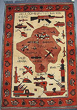 First Ever Iraq War Rug