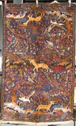 Hunting Rug with Cars